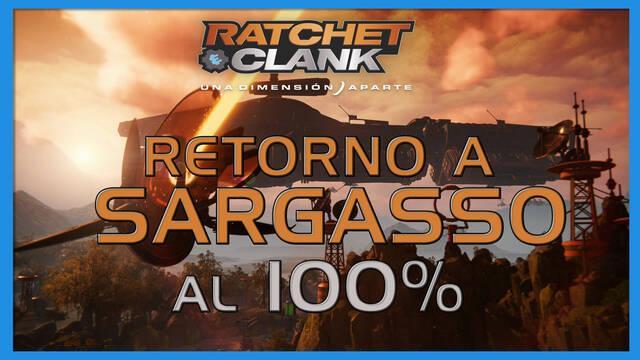 Retorno a Sargasso en Ratchet & Clank: Una dimensión aparte al 100%