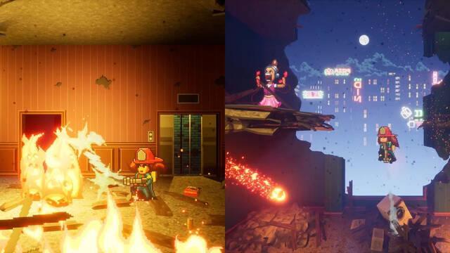 Firegirl, el título de plataformas y rescate en incendios, llegará este otoño