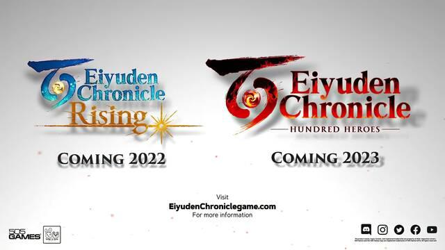 Eiyuden Chronicle: Hundred Heroes se lanza en 2023 y Rising en 2022