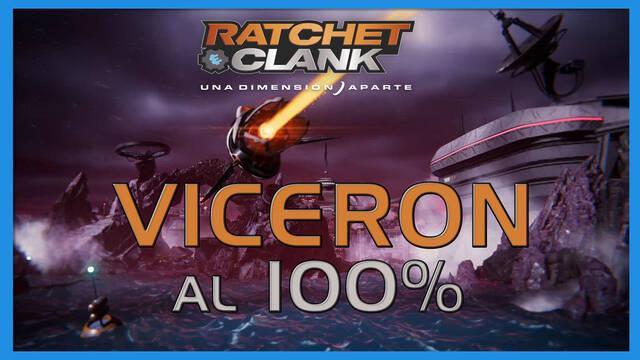 Viceron en Ratchet & Clank: Una dimensión aparte al 100%