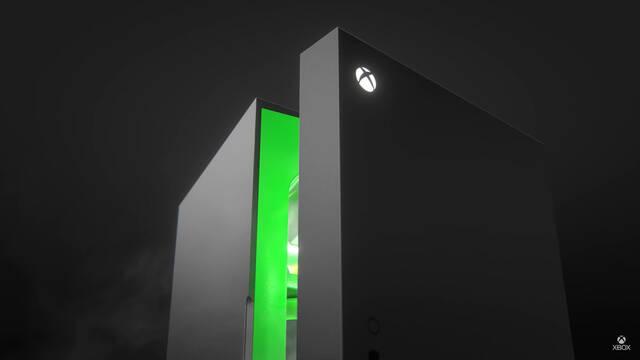 Xbox y el frigorífico