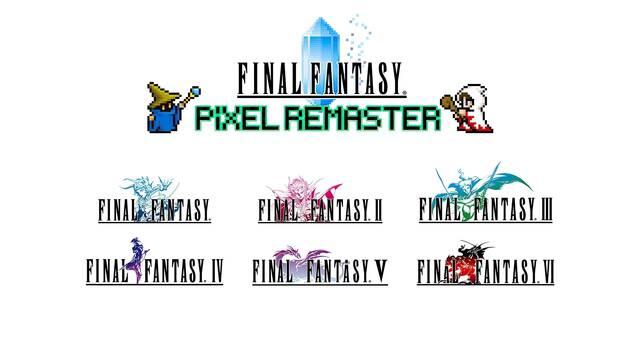 Square Enix relanzará Final Fantasy I-VI en PC y móviles con Pixel Remaster