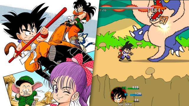 Un fan crea Dragon Ball Legendary Adventure, un RPG al estilo retro