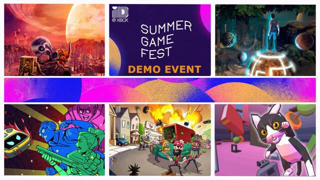 Sumer Game Fest Demo Event Xbox Series One juegos