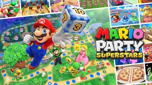 Mario Party Superstars anunciado para Switch: Se lanzará el 29 de octubre.