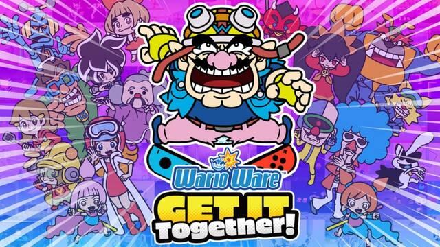 WarioWare: Get It Together! llevará más de 200 minijuegos a Switch el 10 de septiembre.