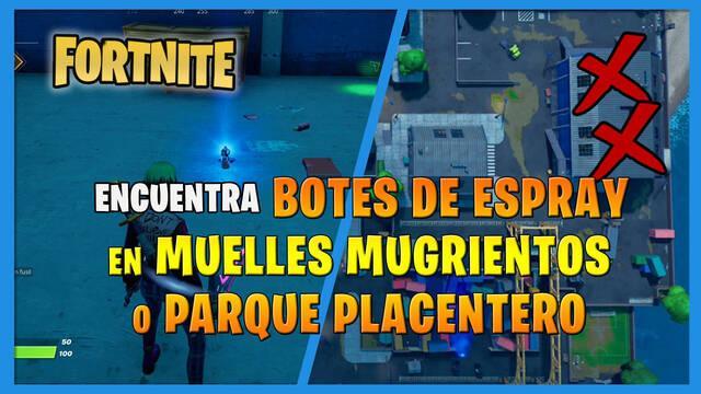 Fortnite: botes de espray - Cómo conseguirlos