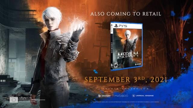 The Medium llegará el 9 de septiembre a PS5.