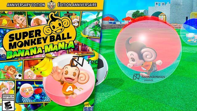 Super Monkey Ball: Banana Mania: Se filtran sus primeras imágenes