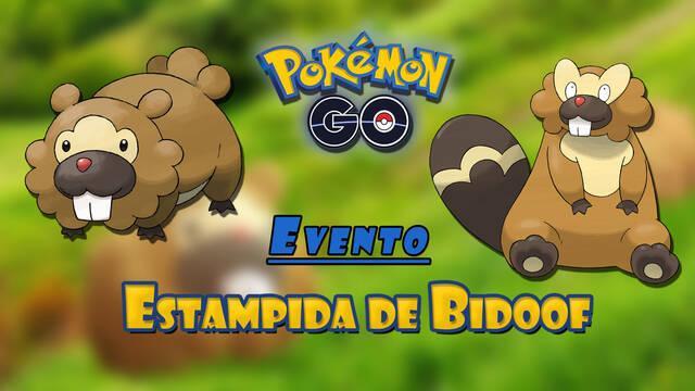 Pokémon GO presenta el evento Estampida de Bidoof: fechas y todos los detalles