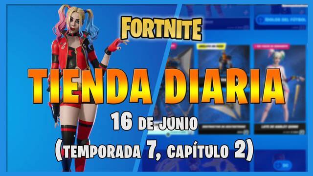 Fortnite Battle Royale - Portada de la Tienda diaria 16 de junio 2021