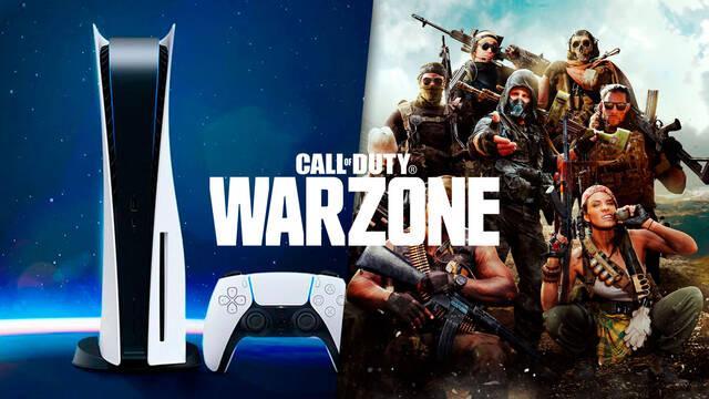 Call of Duty: Warzone añade modo 120 fps en la retrocompatibilidad de PS5