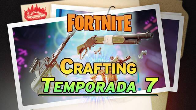 Fortnite Temporada 7: Cómo fabricar armas - Todos los recursos y recetas