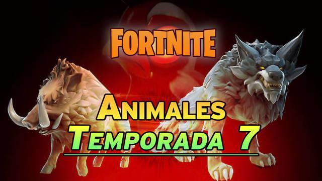 Animales de Fortnite Temporada 7: Cómo domarlos y localizaciones
