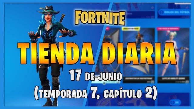 Fortnite Battle Royale - Portada de la Tienda diaria 17 de junio 2021