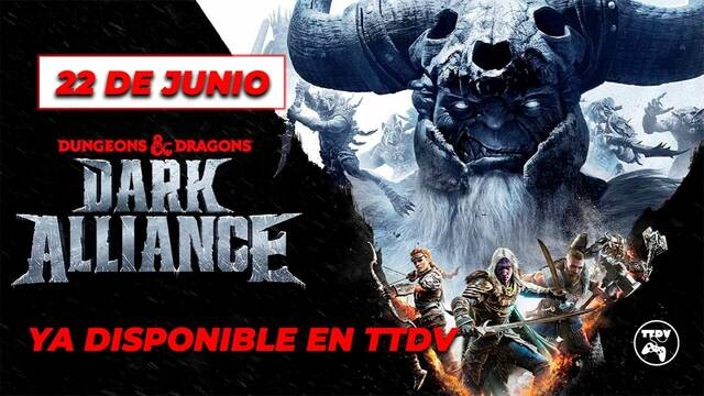 Dungeons & Dragons: Dark Alliance en TTDV