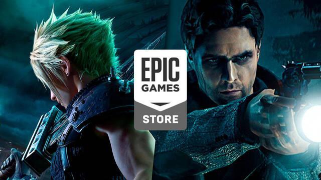FF 7 Remake y Alan Wake Remastered aparecen en la base de datos de Epic Games Store
