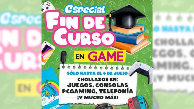GAME España da comienzo a las ofertas de fin de curso en juegos, consolas y PC Gaming