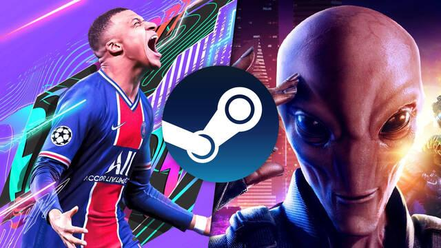 Ofertas del fin de semana en Steam: FIFA 21, franquicia XCOM, Apex Legends, Verdun y más.
