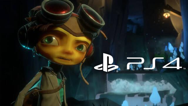 Psychonauts 2 llegará también a PS4 el 25 de agosto, pero no tendrá versión de PS5.