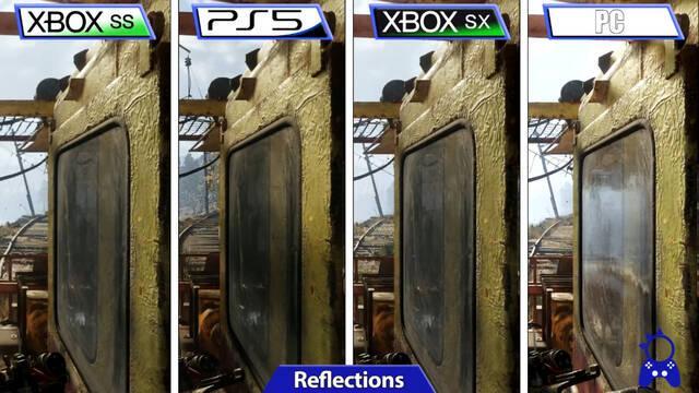 Así es Metro Exodus Complete Edition comparado en PS5, Xbox Series X/S y PC.
