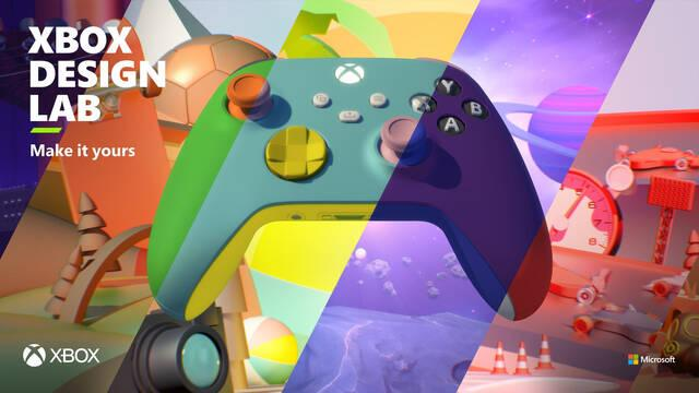 Xbox Design Lab reabre sus puertas con mandos de Xbox Series X/S personalizables.