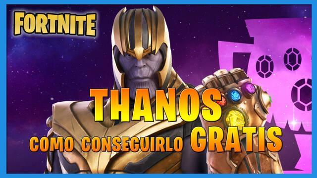 Fortnite Battle Royale - Thanos: cómo conseguirlo gratis