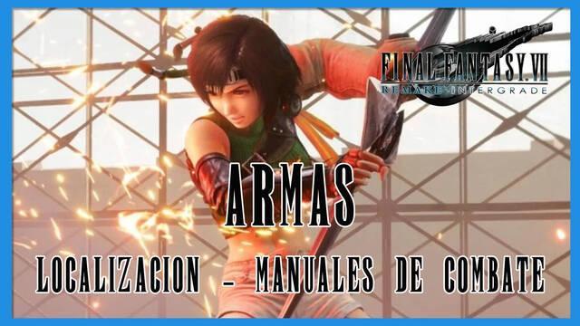 TODAS las armas en Final Fantasy VII Remake - INTERmission
