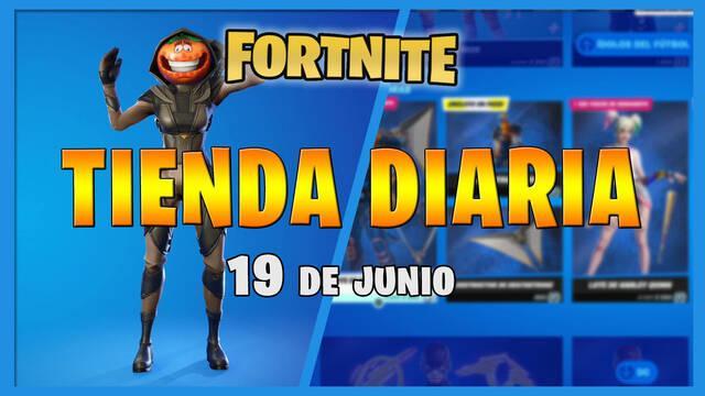 Fortnite Battle Royale - Portada de la Tienda diaria 19 de junio 2021