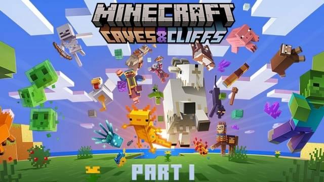 Minecraft Caves & Cliffs Parte 1 fecha de lanzamiento