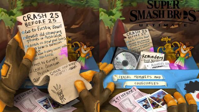 Smash Bros. Ultimate: los fans creen que la inclusión de Crash Bandicoot es inminente