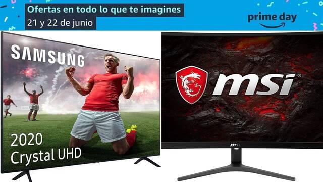 Ofertas Prime Day monitores y televisores