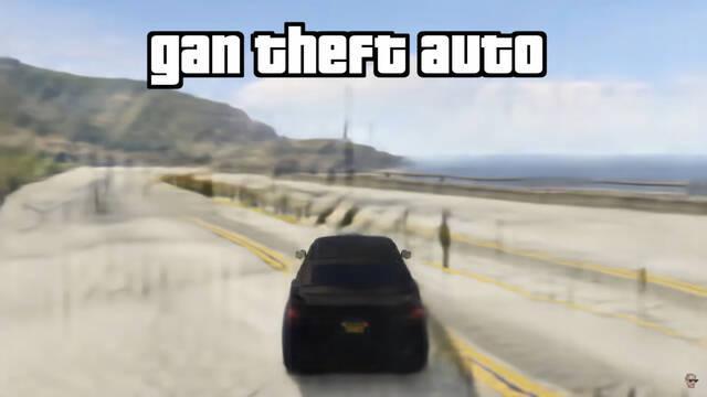 Gan Theft Auto inteligencia artificial Nvidia GameGAN