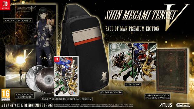 Shin Megami Tensei V edición coleccionista