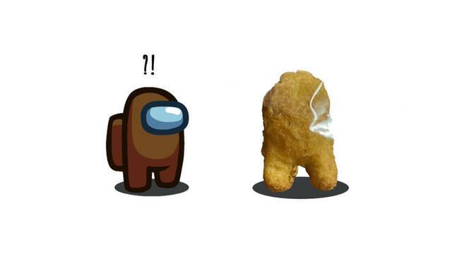 El nugget de pollo de Among Us se vende por más de 50.000 dólares en eBay