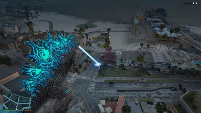 Godzilla en GTA 5