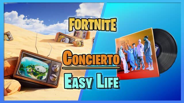 Fortnite: Concierto de Easy Life - Fechas, horas, cómo verlo y premios gratis