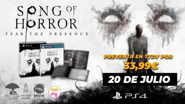TTDV abre la preventa de Song of Horror: Deluxe Edition.
