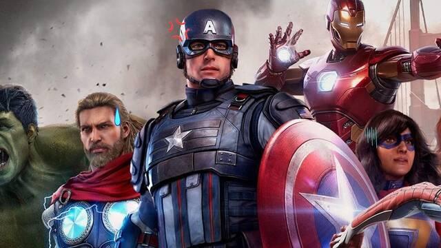 Marvel's Avengers y el bug que revela información