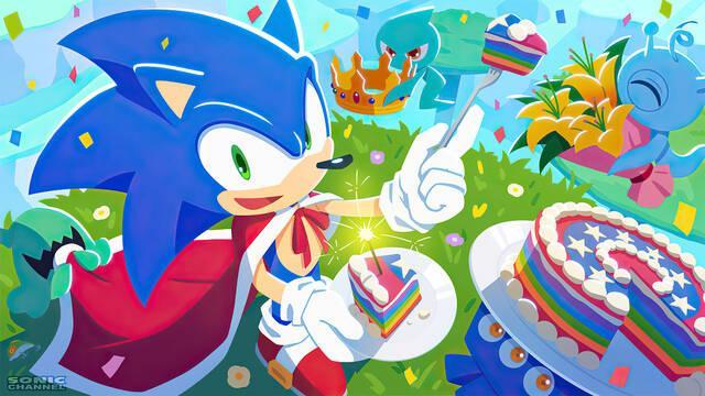 Sonic the Hedgehog cumple 30 años
