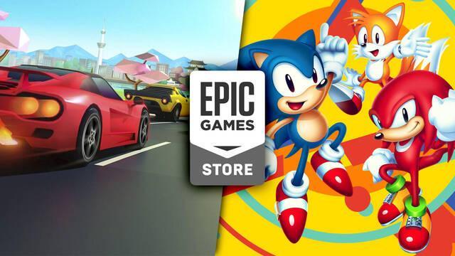 Sonic Mania y Horizon Chase Turbo ya disponibles gratis en Epic Games Store.