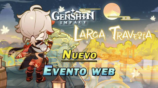 Genshin Impact: Evento web Larga travesía - Fechas, recompensas y cómo participar