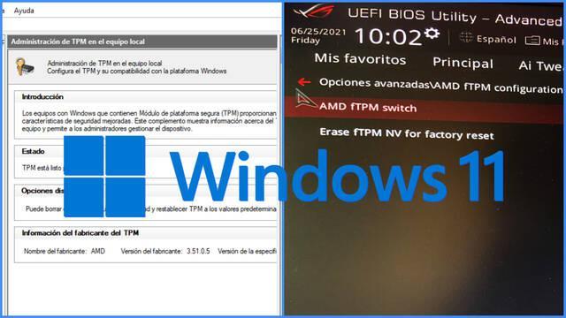 Compatibilidad Windows 11 comprobar TPM 2.0