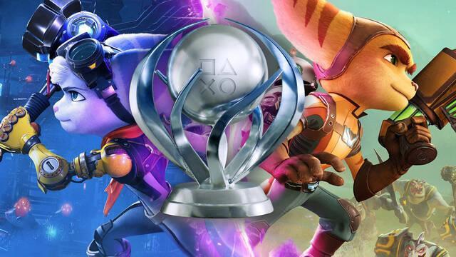 Más de la mitad de jugadores de Ratchet and Clank: Rift Apart ya ha conseguido el platino.