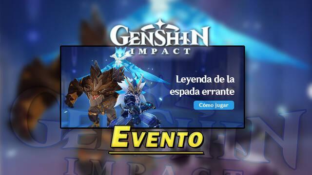 Genshin Impact: Gana Protogemas gratis en el evento Leyenda de la espada errante