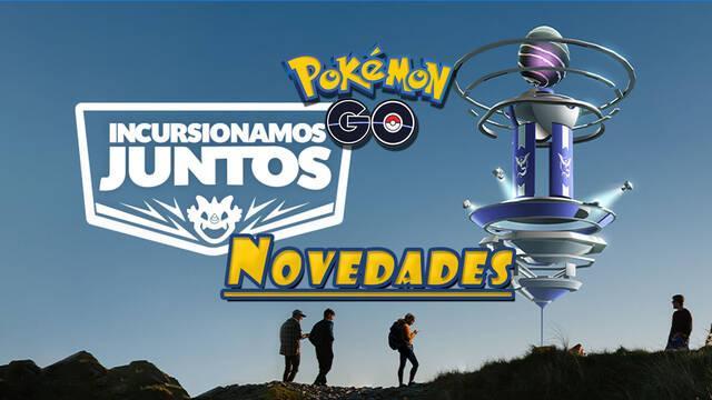 Pokémon GO anuncia nuevas actualizaciones para las incursiones este verano