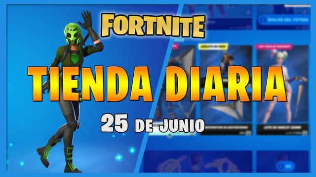 Fortnite Battle Royale - Portada de la Tienda diaria 25 de junio 2021