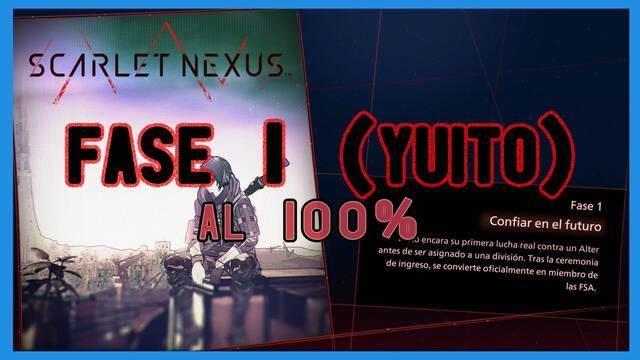 Fase 1: Confiar en el futuro al 100% en Scarlet Nexus