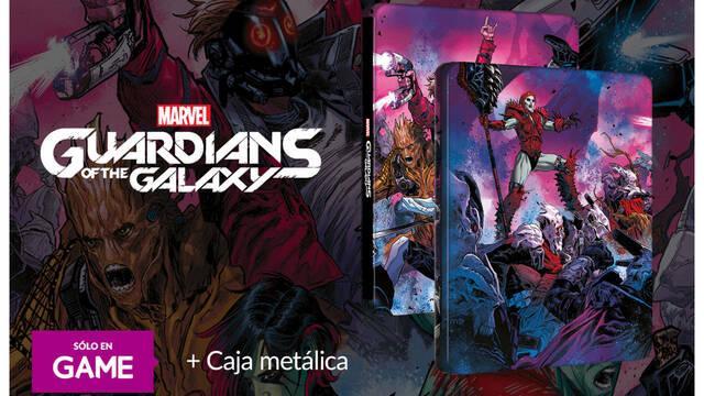 Reserva Marvel's Guardians of the Galaxy en GAME para llevarte una steelbook exclusiva