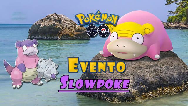 Pokémon GO adelanta su evento de Slowpoke: fechas, detalles y características